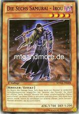 Yu-Gi-Oh 2x Die sechs Samurai - Irou - - - SDWA