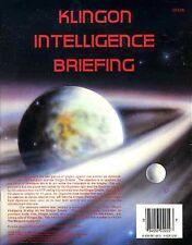 Star Trek KLINGON INTELLIGENCE BRIEFING VF! Module FASA 2222A Federation