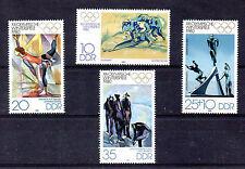 Alemania Deportes Olimpiadas serie año 1980 (BA--8)
