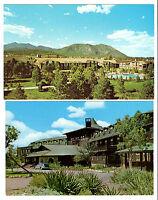 ARIZONA Kodachrome Lot (2) Postcards Grand Canyon National Park Hotel El Tovar