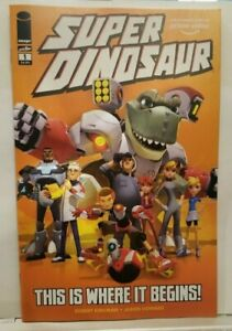 LCSD 2019 HIGH GRADE Super Dinosaur #1 Variant LCSD Image Comics Exclusive