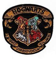 Harry Potter Hogwarts School Crest UK  Patch 3 1/4 inches tall