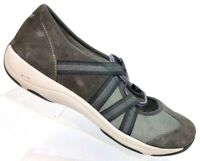 Dansko Gray Bungee Suede Mary Jane Athletic Sneaker Women's US 7.5-8 / EU 38