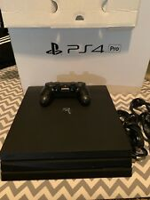 PlayStation 4 PS4 Pro 1TB Jet Black Console
