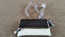 ECCO Women's Delight Clutch Bag Black/White BRAND NEW WITH TAGS