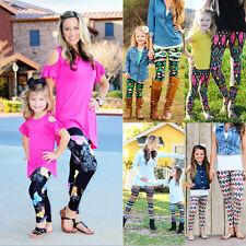 NEW Women Leggings Jeggings Flower Galaxy Printed Stretchy Full Length Pants