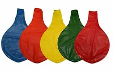 36 Inch Giant Latex Balloon Color Assortment 10 Pack - NEW