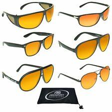 6 STYLES HD Vision BLUE BLOCKER Aviator Sunglasses High Definition Sport Glasses