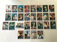1989 PHILADELPHIA PHILLIES Topps Complete Baseball Team 29 Card Set SCHMIDT!