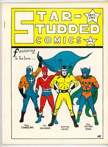 STAR STUDDED COMICS #1 (Texas Trio 1963) apparent FN NO RES!