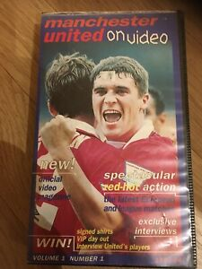 Manchester United On Video VHS