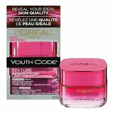 L'Oreal Youth Code Texture Perfector Day/Night Cream, 1.7 Oz (New - Open Seal)