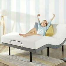 """Twin XL Electric Bed Frame And Mattress Adjustable Remote Massage Medical 12"""""""