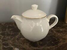 Rare Villeroy & Boch Cortina 2000 Gold Miniature Teapot Depuis 1748