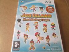 Job Island: Hard Working People (Nintendo Wii, 2009) NEW AND SEALED PAL