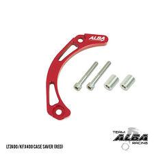 Suzuki LTZ 400 LTZ400  Case Saver  Billet Aluminum  Red   Alba Racing  206-T6-R