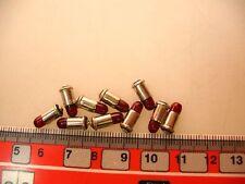 10x Bombilla 19V rojo para Märklin 4028,7079, 7188 etc. # LA2