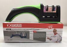 NIB Xiangruei Knife Sharpener Stainless Steel Knives Cutlery As Seen On TV 3377S