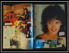 Vintage double page article...Jennifer Beals: FLASHDANCE !! Germany, 1983 !!