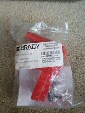 Brady PRINZING BALL VALVE LO - LRG  RED NAED# 45341