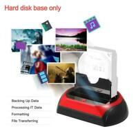 """2.5"""" 3.5"""" IDE SATA HDD Hard Drive Disk All In One Docking Station Card Base Case"""