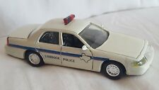 Road Champs Lubbock Police Diecast Vehicle 1:43 Scale 1999
