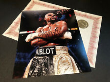 FLOYD MAYWEATHER JR SIGNED AUTHENTIC AUTOGRAPH WITH COA
