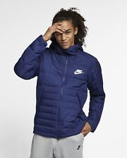 Nike Men's XXL 2XL Down Fill Blue Jacket Coat AJ7946-429