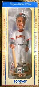 """ORLANDO CEPEDA BOBBLEHEAD """" FOREVER LEGENDS """" ( COOPERSTOWN LIMITED EDITION )"""