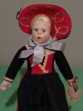 "Antique 9"" 1930's All Original Tagged Lenci Miniature Doll"