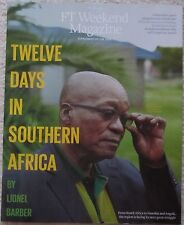 Twelve Days in Southern Africa - FT Weekend Magazine – 12 April 2014