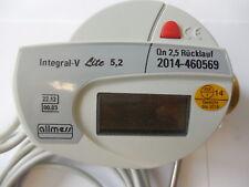 Allmess Kompaktwärmezähler Inlinesystem Integral-V Lite 5,2 TF=5,2mm Rücklauf2,5
