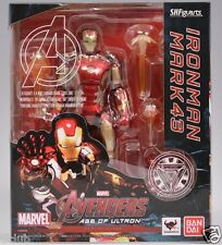 S.H.Figuarts Marvel Avengers Age of Ultron Iron Man Mark 43 MK43 Action Figures