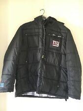 NFL Pro Line New York Giants Puff Quilted Full Zip Jacket MEN COAT HOOD SIZE XXL