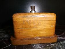 interrupteur de sonnette de notaire art-déco XXe