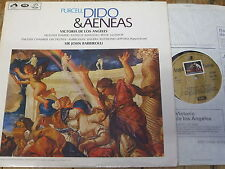 SAN 169 Purcell Dido & Aeneas / de los Angeles / Barbirolli 2 LP box
