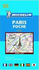 Michelin Map 50 Paris Poche Plan - Very Good Book Michelin Staff