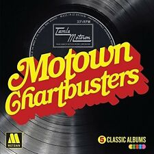 Motown Chartbusters: 5 Classic Albums (2016, CD NUEVO)