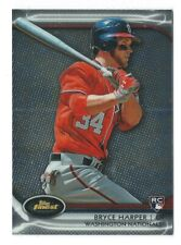 2012 Topps Finest #73 BRYCE HARPER RC Rookie Card Nationals / Phillies