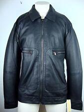 MICHAEL KORS Leather Jacket Herren Lederjacke Jacke Gr.XXL Black NEU mit ETIKETT