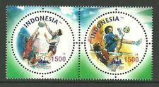 INDONESIA 2004 SPORT SEPAKTAKRAW BALL GAMES CIRCULAR STAMPS SET MNH
