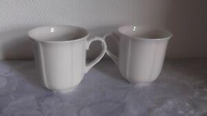 2 Kaffeebecher  Henkel Becher  Villeroy & Boch Manoir