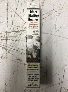 The Balm Meet Matt(e) Hughes Long Lasting Lipstick Charming
