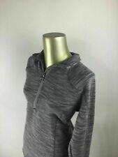 CABELA'S Zip Up V-Neck Long Sleeve Gray Casual Sweatshirt Women's Size Large