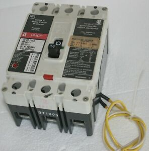 Cutler-Hammer Series C Motor Circuit Protector HMCP150U4C  with Shunt Trip