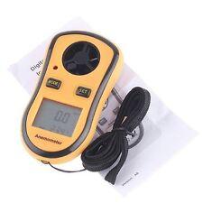 LCD digitale Windgeschwindigkeit Temperatur Messgeraet Anemometer DE