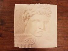 Michelangelo David column face decorative ornate plaster wall hanging plaque new