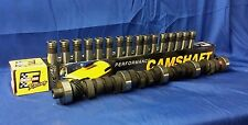 FORD SBF V8 289 STAGE 2 448/472 LIFT CAM CAMSHAFT & LIFTERS KIT 302 MC1734 HA900