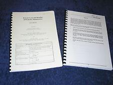 PRIVATE COSTS & BENEFITS OF PESTICIDE MINIMISATION DoE/RPA/ENTEC final report 97