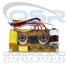 3-Way Crossover, 400W rms, 500 Hz/ 1.6 KHz – Suitable for Eminence PXB3 500 1K6